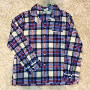 L.L. Bean Women's Flannel Pajama Top-S
